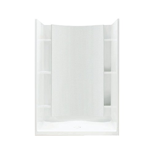 0 White Accord Accord (Sterling Plumbing 72250100-0 Accord Shower Kit, 42-Inch x 36-Inch x 77-Inch,)