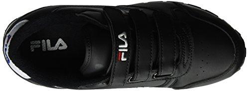 Zapatillas Orbit Wmn Mujer Para Velcro 25y Low Fila Negro black qItwZdS