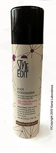 Root Concealer (Medium/Light Brown) 2oz by Style Edit ® I...
