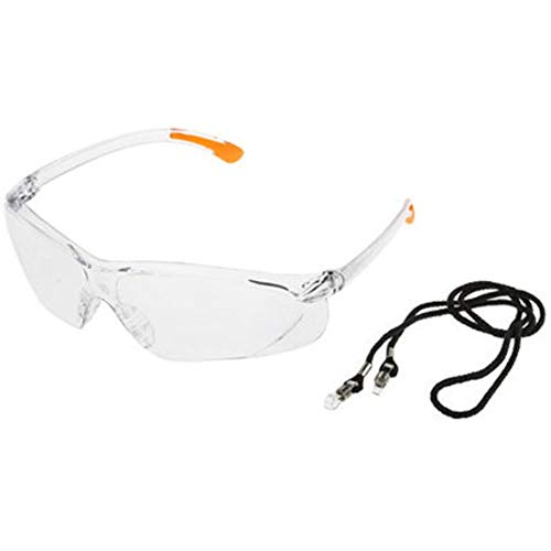 RS Pro Fossa Glasses; Clear, Pack of 10 by rs-pro (Image #1)