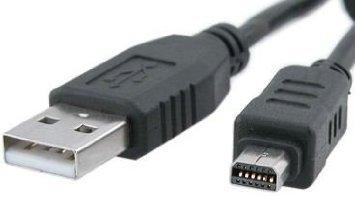 Cámara Digital Olympus Camedia C-170//C-180//C-480//C-500//C-550 Cable USB
