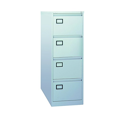 Jemini 4 cajones archivadores, Metal, Gris, 62,2 x 47 x ...
