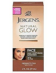 Jergens Natural Glow Healthy Complexion Daily Facial Moisturizer for Medium to Tan SPF, 2 Ounce - 2 - Glow Face Jergens Natural Moisturizer