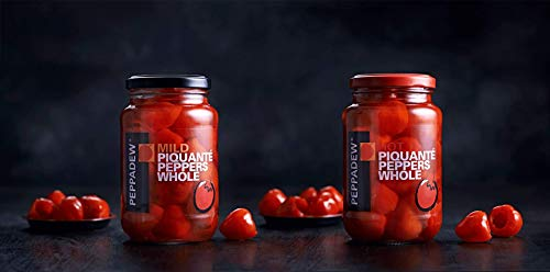 (Peppadew Mild And HOT Whole Sweet Piquante Peppers Combo 14oz Each)