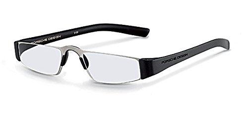 PORSCHE DESIGN P 8801 Eyeglasses Readers Black Black ()