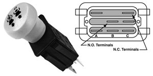 316wDObhSXL amazon com 725 3233 pto switch, cub cadet, mtd, yard machine cub cadet pto switch wiring diagram at panicattacktreatment.co