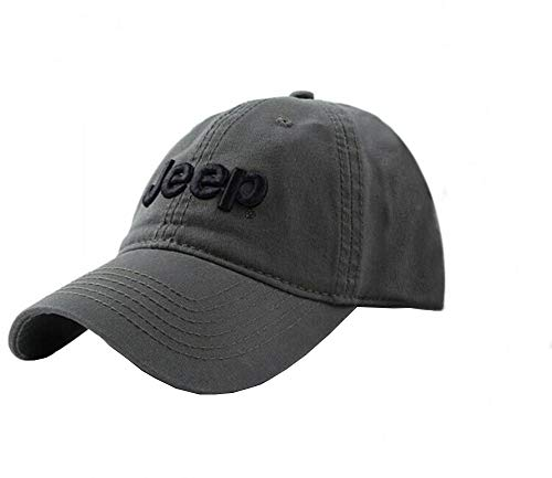 Jeep Unisex Adjustable Horizon Classic Cap (Olive Green, Free Size) (Jeep Hat)