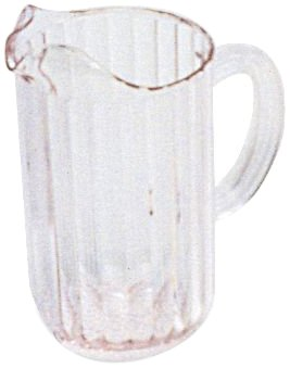 Rubbermaid Commercial Products Bouncer Pitchers - Rubbermaid Commercial Products FG333700CLR Bouncer Pitcher, 54 oz (Pack of 6)