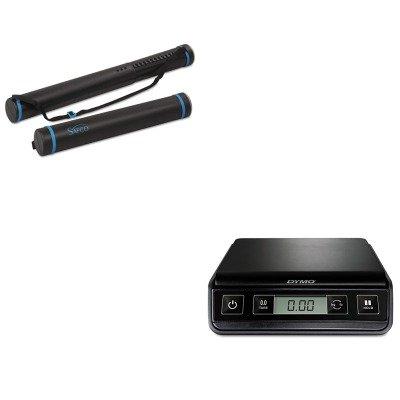 KITPEL1772055SAF3053 - Value Kit - Safco Plastic Telescoping Document Tube (SAF3053) and Dymo M3 Digital Postal Scale (PEL1772055)