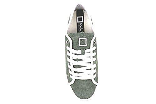 Sneakers Donna Verde 37 Camoscio C E T A D AP513 Date Scarpe EU qUR88Cw
