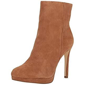 NINE WEST Women's Quanette Suede Ankle Boot 21