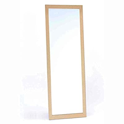 Ota Art Co., Ltd. MADE IN JAPAN, Good Quality Full Length Mirror, Use Japanse Wood, Size; 36.61 x 12.59 inch, Color; Natural - MADE IN JAPAN, SIMPLE, WOODEN FULLLENGTH MIRROR Materials: Wood, Mirror Size: 36.49 x 12.48 x 0.59 inches, Weight: 5.95lb - mirrors-bedroom-decor, bedroom-decor, bedroom - 316wJ12zo9L. SS400  -