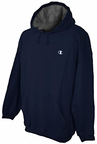 Champion Big Men's Pullover Hoodie Sweatshirt Navy 3XL - Champion Hoodie Heavyweight