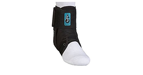 MedSpec ASO EVO Speed Lacer Ankle Brace Stabilizer Black Medium by Med Spec