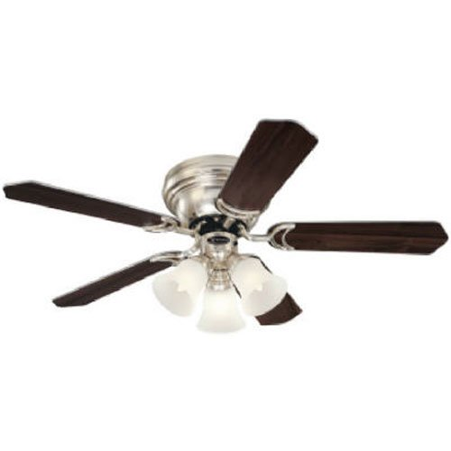 Warehouse ceiling fans amazon westinghouse 7861500 contempra trio three light 42 inch five blade ceiling fan brushed nickel with frosted glass shades aloadofball Gallery