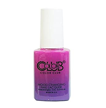 Amazon Com Color Club Mood Changing Nail Lacquer Tie Dye Oh My