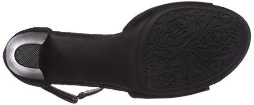 ara Rosso - Sandalias de vestir de cuero para mujer negro - Schwarz (schwarz 01)