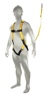 Safety Works 10095849 Fall Protection Aerial Kit, X-large