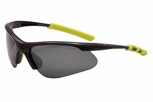 (Champion Men's Midnight Blue polycarbonate Rectangular Sunglasses)