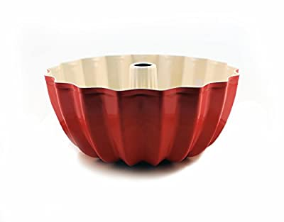 BergHOFF CookNCo Bundt Cake Pan, Orange