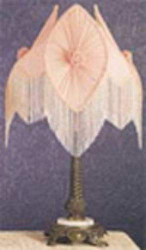 Fabric and Fringe Pontiff Table Lamp in -