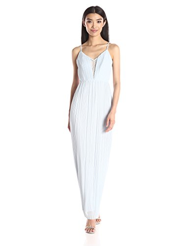 BCBGeneration-Womens-Pleated-Strap-Gown