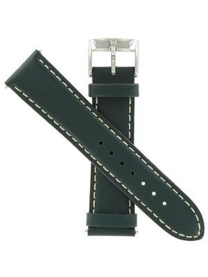 Swiss Army Infantry Self-Winding Leather 22mm Dark Green Watch Band