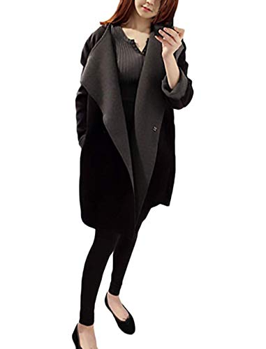 Femme Hiver El BoBoLily Longues Manteau fExq6