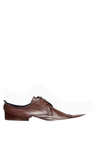 next Hombre Zapatos Estilo Derby Brogue Cierre De Cordones Formales Marrón