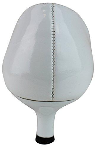 Ca Collezione By Carrini Womens Abito Basso Tacco Pompa Nero / Bianco 52-350 Bianco