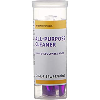 AmazonCommercial Dissolvable All-Purpose Cleaner Refill Jar - 12 Pacs