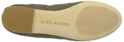 Belmondo 521304/S Damen Ballerinas Grau (Taupe)
