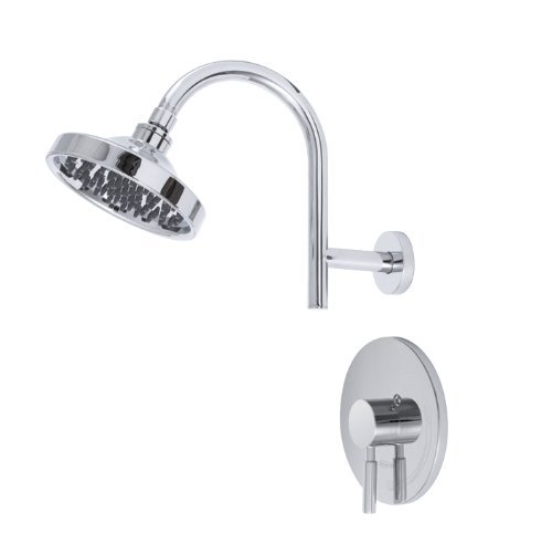Premier 120091 Essen Single-Handle Shower Faucet, Chrome by Premier ()