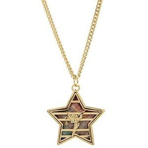 - Disney Couture XOXO Tinkerbell Star Necklace (Blue)