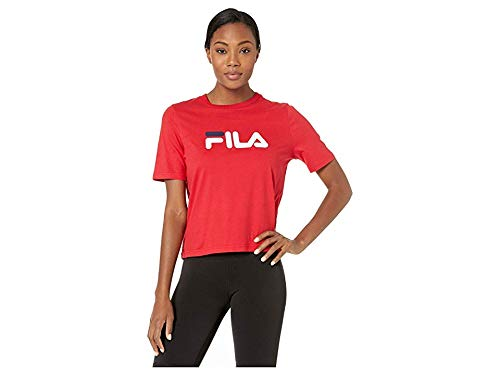 - Fila Women's Miss Eagle Tee, Chinese Red/Peacoat/White, Small