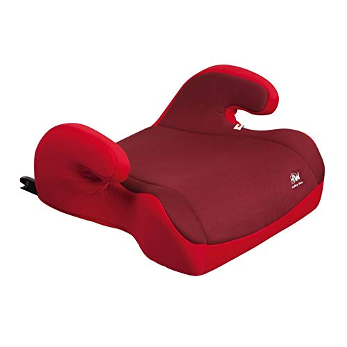 Alazador Silla 1-2-3 Coche 3-12 años, 15-36 kg ligera Reposacabezas isofix comoda lavable 2019 Rojo Roja Todo de Rojo