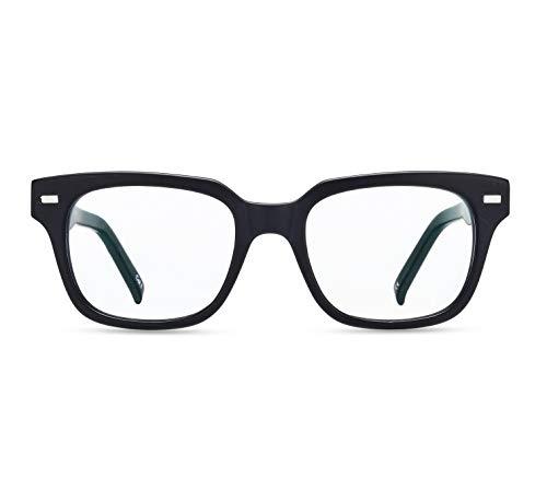 Boca Blu Blue Light Blocking Reading Glasses   UV Light Filtering Anti Glare High Optical Quality Glasses for Men/Women (+1.0, Poseidon Matte Black)