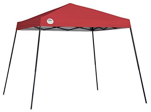 Quik Shade 10 X 10 ft. Slant Leg Canopy, Red 10 Slant Leg Canopy