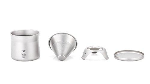 Keith Titanium Ti3911 Mini Coffee and Tea Maker