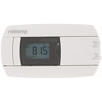 rite temp 5 1 1 universal programmable thermostat energy star rh amazon com ritetemp thermostat 6022 troubleshooting Rite Temp 6022 Wiring