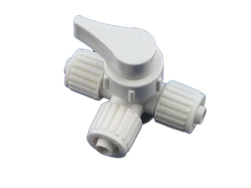3 Way Bypass Valve - Flair-It 16900 Plastic 3 Way WTR HTR Bypass Valve, 0.375