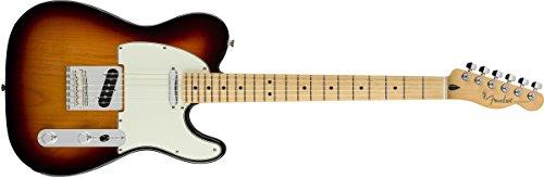 (Fender Player Telecaster Electric Guitar - Maple Fingerboard - 3 Color Sunburst)