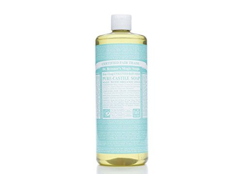 Large Product Image of Dr. Bronner's Pure-Castile Liquid Soap - Baby Unscented, 32oz.