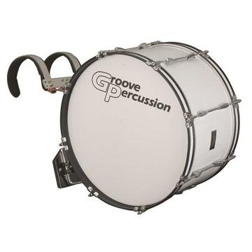 Groove Percussion MBD1222W 12x22 Marching Bass Drum with Vest Carrier by Groove Percussion (Image #1)