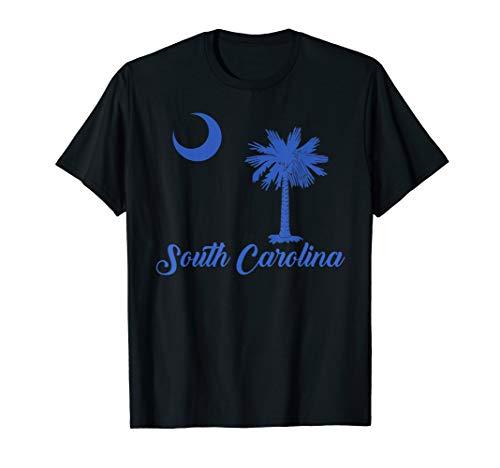 South Carolina State Flag Shirt Crescent Moon Palmetto Tree