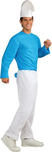 Smurf Costume For Adults (Rubie's Men's Smurf Adult Costume, Smurfs: the Lost Village, Standard)