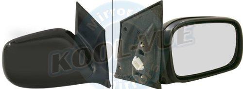 QP H5032-a Honda Black Power Passenger Side Mirror
