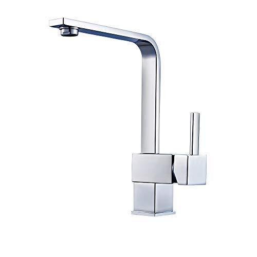 ERNTOGO 360Drehbar Kchenarmatur Wasserhahn Chrom Einhandmischer Spltisch Armatur