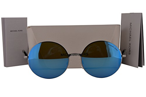 Michael Kors MK5017 Kendall II Sunglasses Silver w/Teal Mirror Lens 100125 MK - Amazon Sunglasses Kors Michael