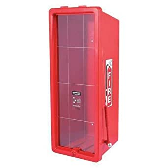 fire extinguisher cabinet ps red safety equipment amazon com rh amazon com